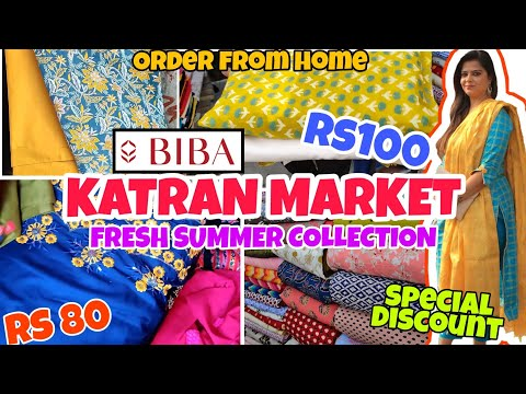 Katran Market Fresh summer fabric l Biba Fabrics, crepe, cotton, latest collection l ShwetaDhiraj