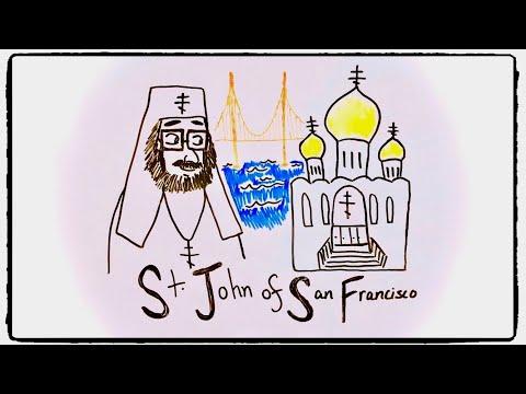ST. JOHN OF SAN FRANCISCO | Draw The Life Of A Saint