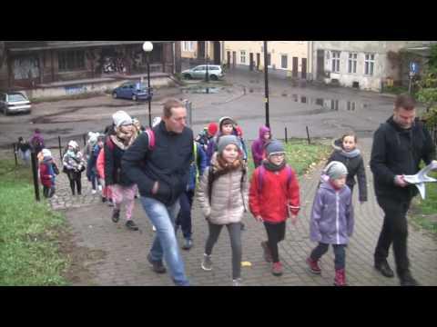 Christian Samp Odkrywa Gdańsk Przed Uczniami SP Nr 86 W Gdańsku