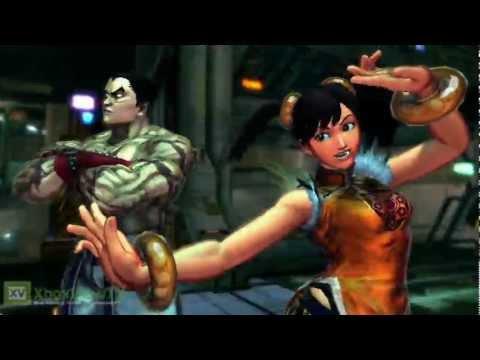 """Street Fighter X Tekken - """"Tekken Characters"""" Gameplay - 동영상"""