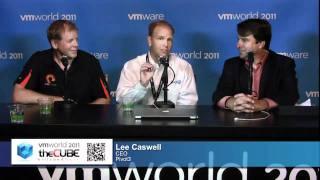 Lee Caswell, Pivot3 and Dr. Scott Dietzen, Pure Storage - VMworld 2011 - theCUBE