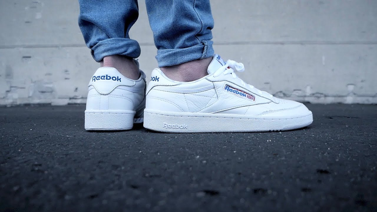 0f8306506b0a0 reebok club c 85 SO unboxing review on feet german - one of the best  classic sneaker