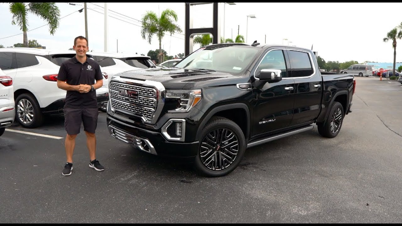Is the 2019 GMC Sierra Denali CARBON PRO the truck of the ...