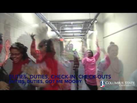 Columbus State University RA VIDEO (GRASS Roll Call 2015)