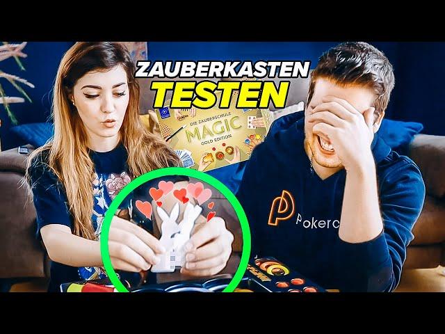 ANNI & ich TESTEN einen ZAUBERKASTEN + krasse Zaubershow! - Alexander Straub
