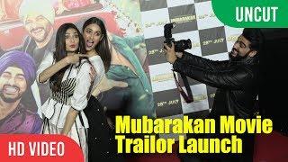 UNCUT - Mubarakan Official Trailer Launch Anil Kapoor, Arjun Kapoor, Ileana D'Cruz, Athiya Shetty