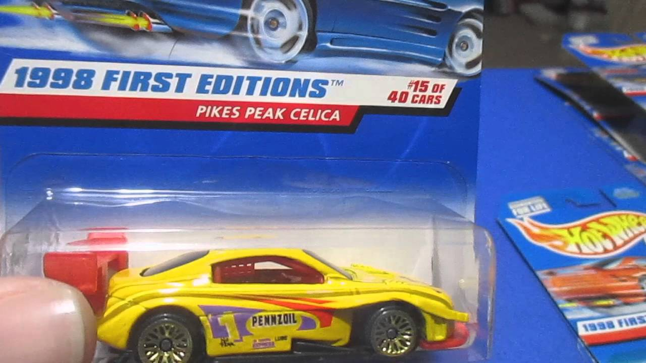Hot wheels 1998 first editions all 40 youtube.