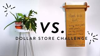 DOLLAR STORE CHALLENGE (loft edition!!) | THE SORRY GIRLS