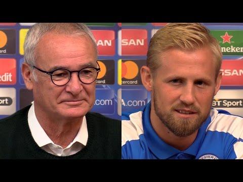 Claudio Ranieri & Kasper Schmeichel Full Pre-Match Press Conference - Leicester v FC Copenhagen