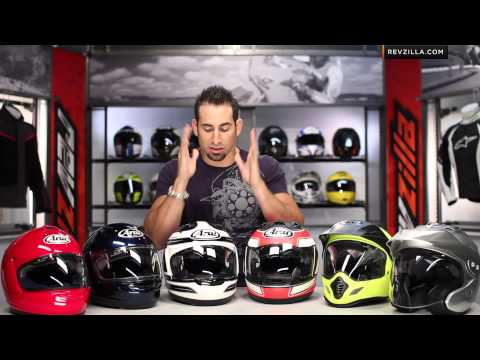 Arai Helmets Overview and Sizing Guide at RevZilla.com