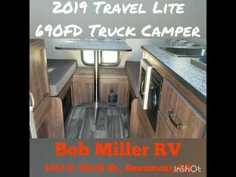 2019 Travel Lite 690FD Truck Camper