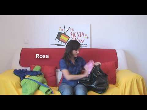 Siesta Show 55 How To Say Colours In Spanish