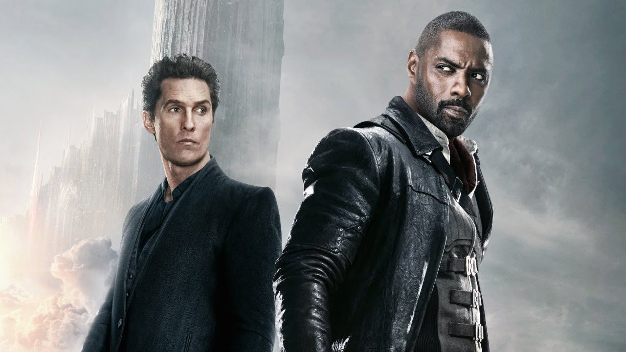 Matthew McConaughey and Idris Elba in 'The Dark Tower'