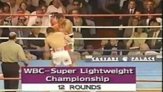 Julio Cesar Chavez El Mejor Boxeador Que a Dado Latinoamerica