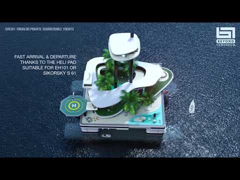"""Kokomo Ailand"" – private floating habitat based on semi-submersible platforms"