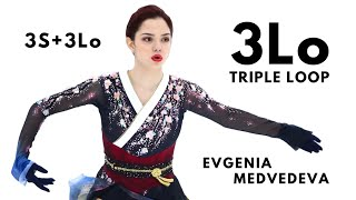 Evgenia Medvedeva 3Lo TRIPLE LOOP Евгения Медведева Season 2019 20