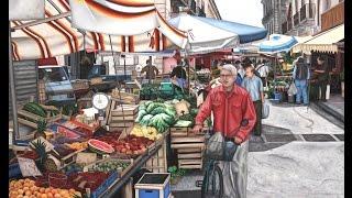 Cibo&Arte - Artisti e Personaggi del Mercato Storico di Ortigia