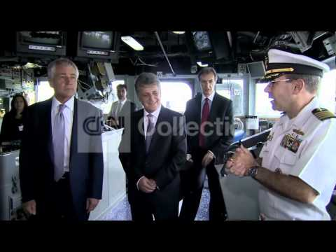 ROMANIA:HAGEL MEETS W ROMANIAN DEFENSE MINISTER