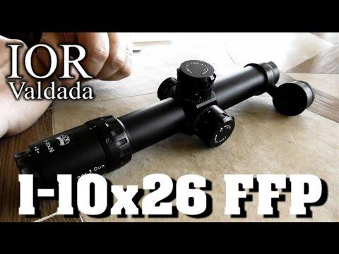 Best 3-Gun Scope? - Rex Reviews the IOR 1-10x26 FFP MIL/MIL Tactical