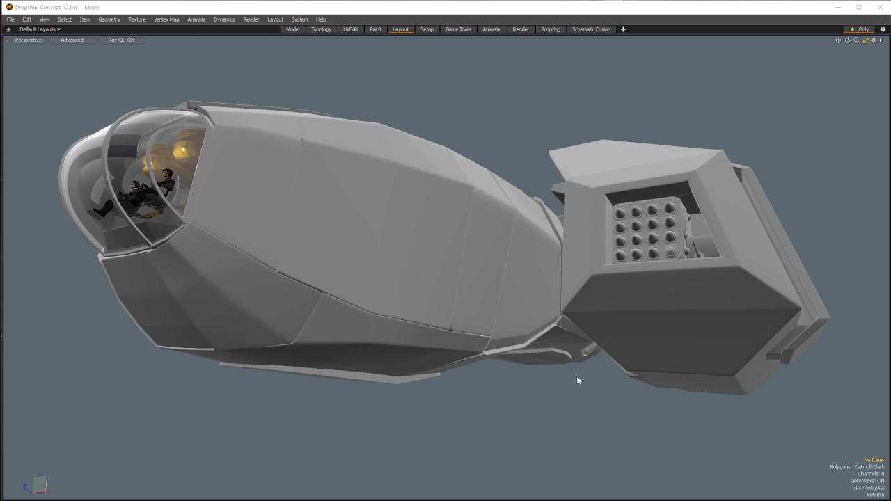 Modo   Building A Spaceship