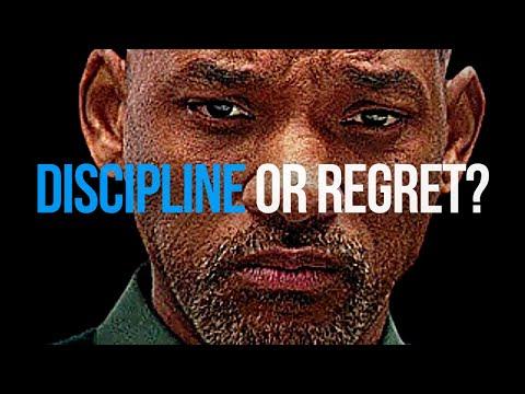 DISCIPLINE or REGRET? (Best Self Discipline Motivational Speech)