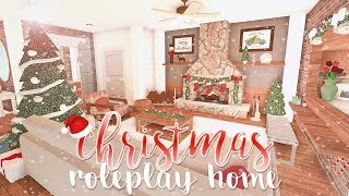 ROBLOX | Bloxburg: Christmas Roleplay Home 133k