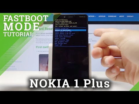 How To Exit Fastboot Mode In NOKIA 1 Plus - Open Fastboot Mode