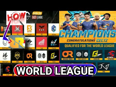 [PMWL 2020 ] WORLD LEAGUE TEAMS AND HOW RRQ QUALIFIED ? FT BTR ,CELTZ ,TSM ,OR , GODL   10TH JULY-/
