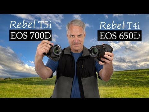 Canon T5i 700D vs T4i 650D Are They The Same?