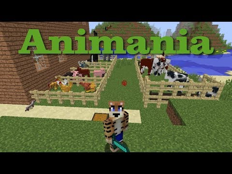 Animania - Minecraft mod Showcase