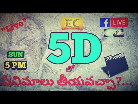 How to make Quality Feature Films with 5D camera-Total Details Live  ||easy cinema|| in telugu 2017