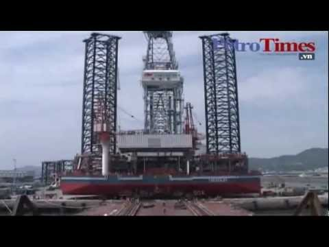 Launching Of Made In Vietnam Oil Rig