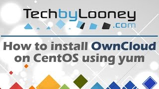OwnCloud Installation on CentOS 6 - 4 Easy Steps