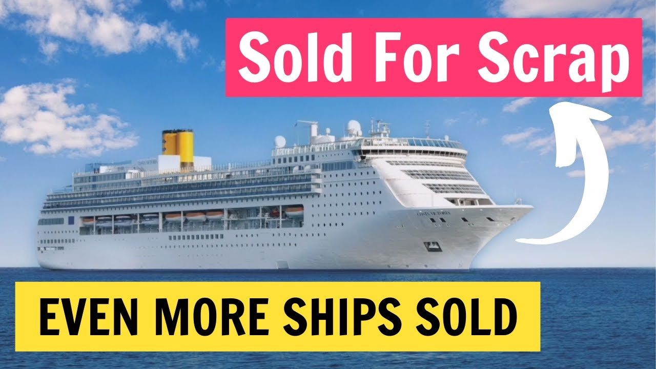 EVEN MORE Sold Cruise Ships of 2020. Carnival, Royal Caribbean and More