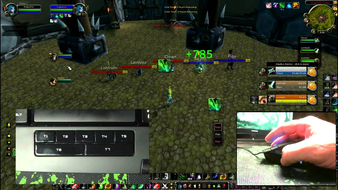 Razer Naga Gaming Mouse World of Warcraft AddOn Treiber Windows 7