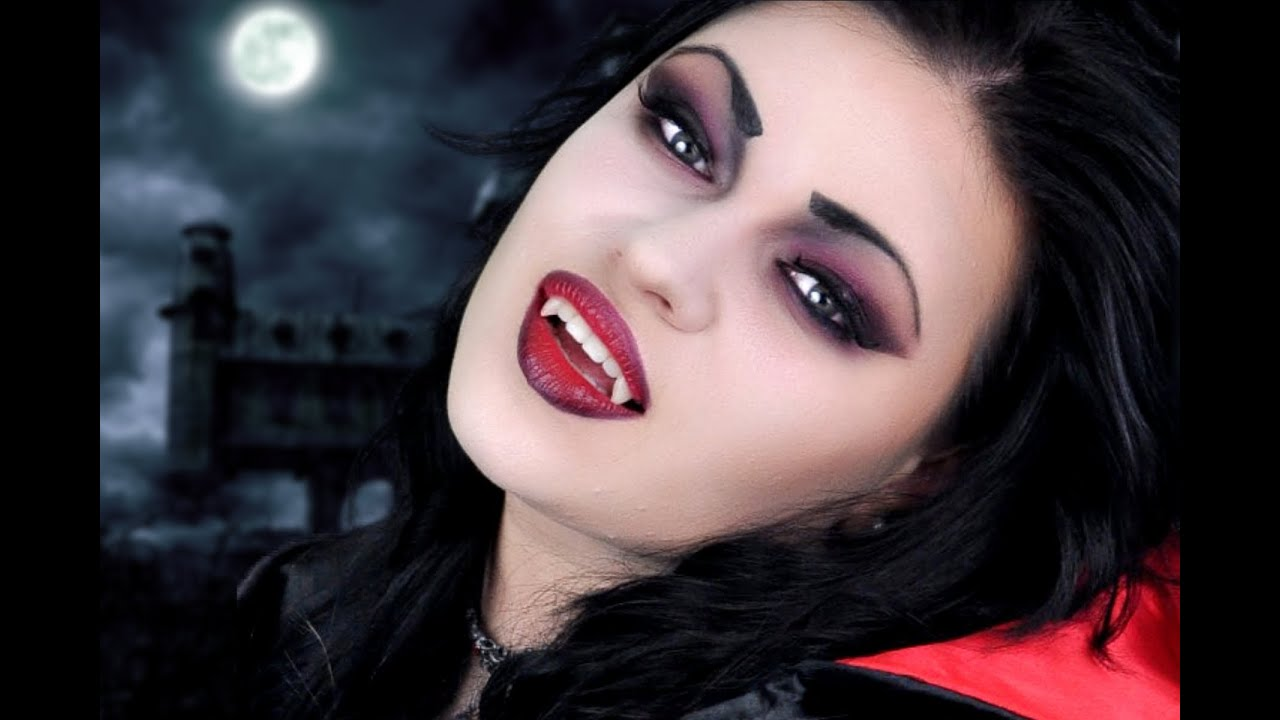 Vampire Makeup Transformation - YouTube