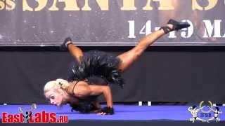 Women Fitness 1 2014 IFBB European Championships