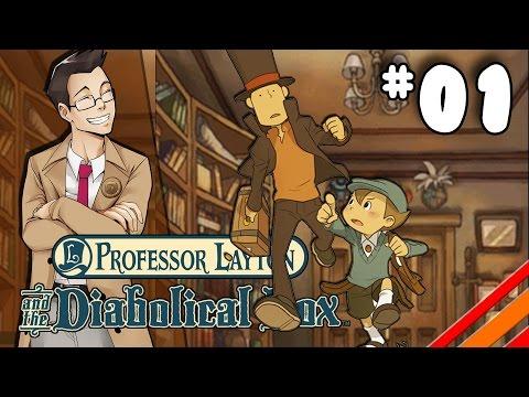 Professor Layton and the Diabolical Box |