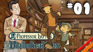 "Professor Layton and the Diabolical Box | ""Dr. Schrader"" 