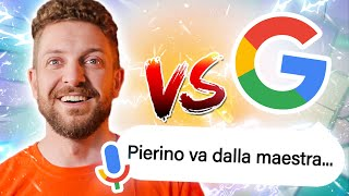 TheMerluzz VS Google: barzellette challenge