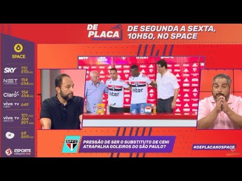 SÃO PAULO FC APRESENTA NOVOS REFORÇOS PARA A TEMPORADA 2019