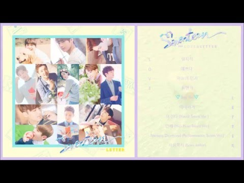 "SEVENTEEN 세븐틴 - 1st full album first ""LOVE&LETTER"""