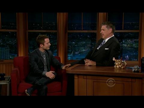 Late Late Show with Craig Ferguson 6/25/2012 Elijah Wood, Kathleen Rose Perkins