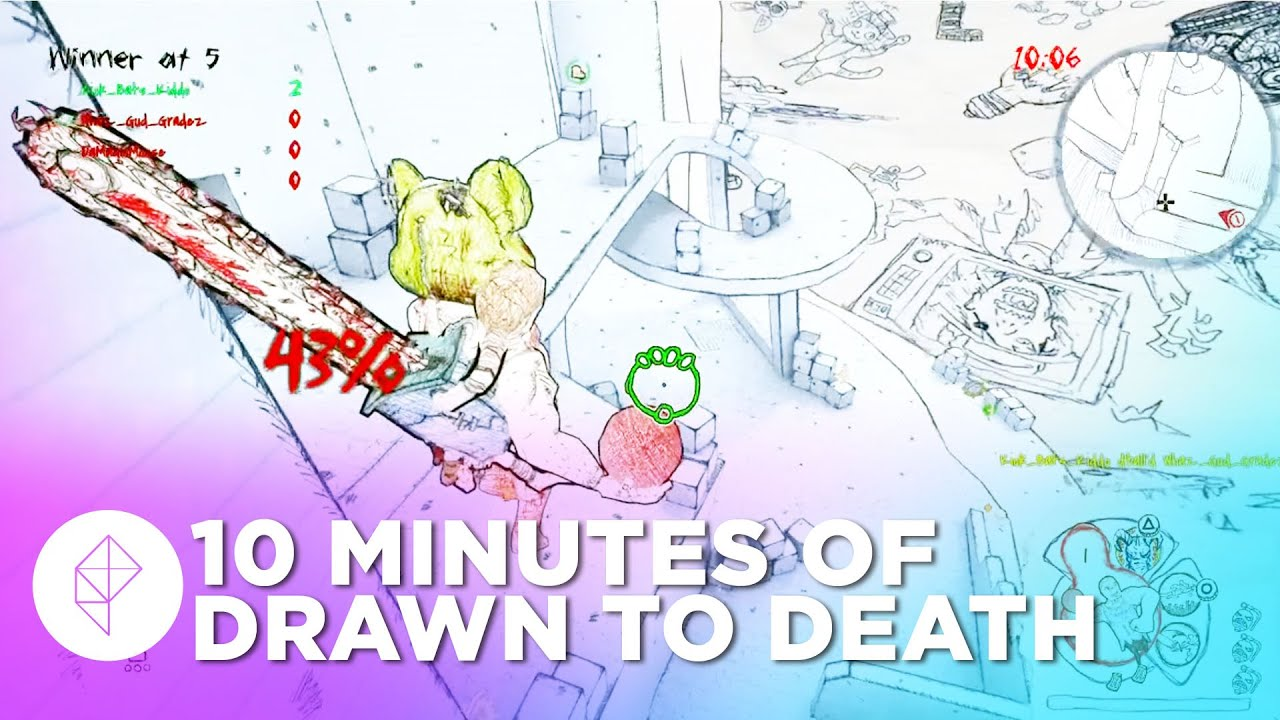 10 Minutes of Drawn to Death Gameplay