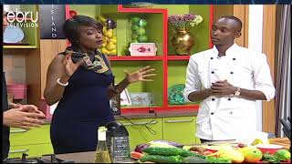 Recipe For Healthy Salads With Chef Kongo (Full Ep)
