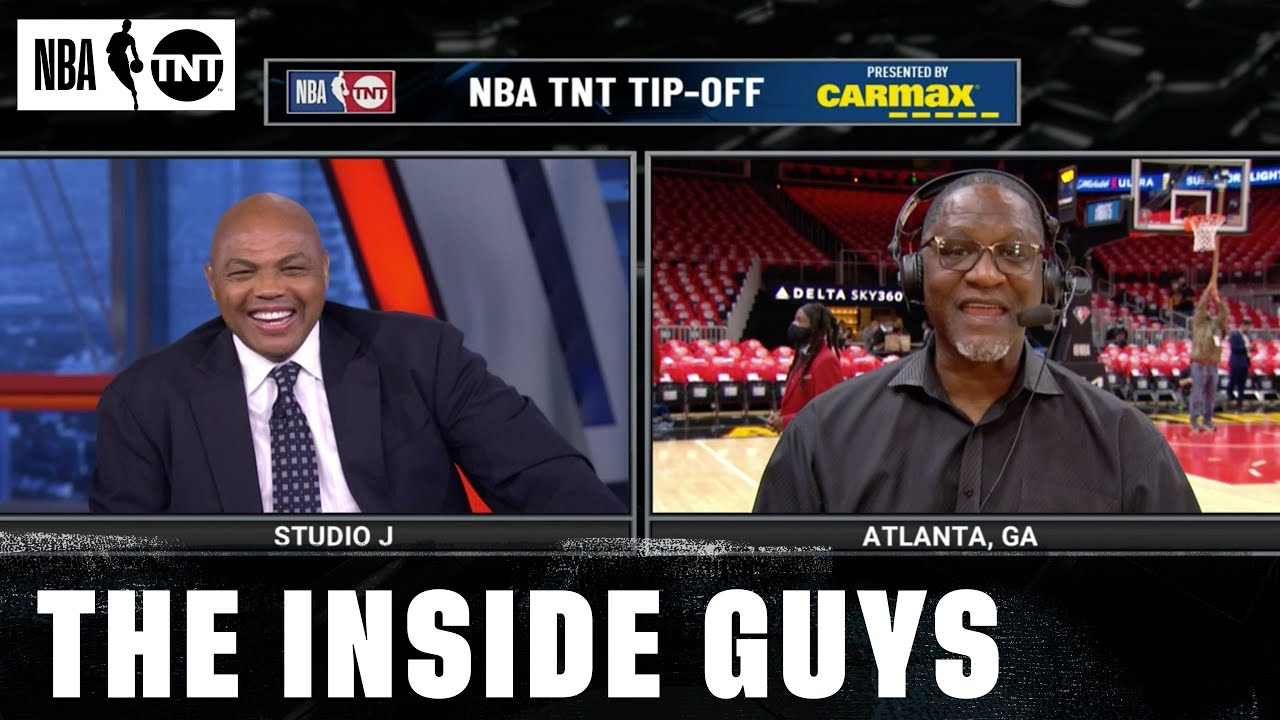 Download Dominique Wilkins Joins Inside & Dunks on Chuck After Making the NBA 75 list | NBA on TNT