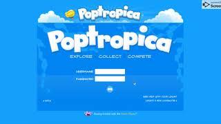 Play Poptropica Game Login
