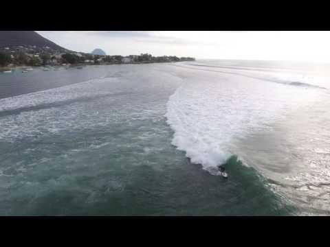 Tamarín Surf Spot Mauritius Island