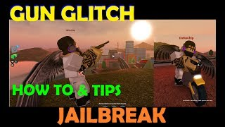 Roblox Jailbreak - How to Gun Glitch - DRIVE AND SHOOT and TIPS for every car