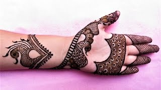 New Stylish Simple Easy Mehndi Heena Designs For Hands By Jyoti Sachdeva